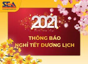 Thông báo nghỉ tết dương lịch công ty sơn Đông Nam Á