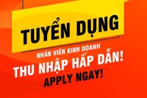 Sơn Đông Nam Á tuyển dụng nhân viên kinh doanh