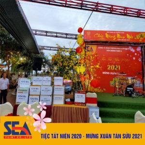Công tác chuẩn bị Tiệc tất niên Sơn Đông Nam Á
